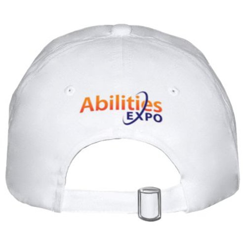 Donna On The Go / Abilities Expo White Cap