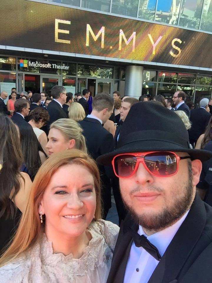 Emmy 2015 with Chris Molina