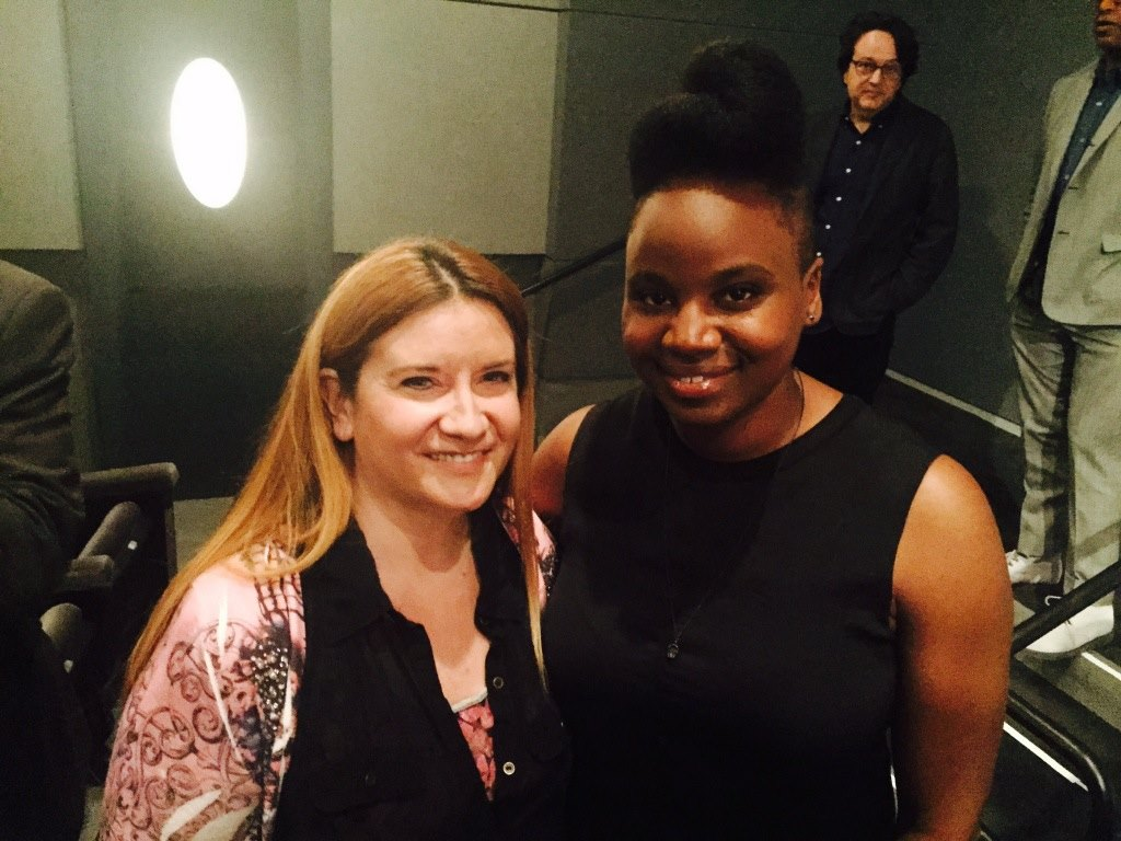 with Dee Rees Bessie director