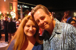 with Beau Bridges at PPG