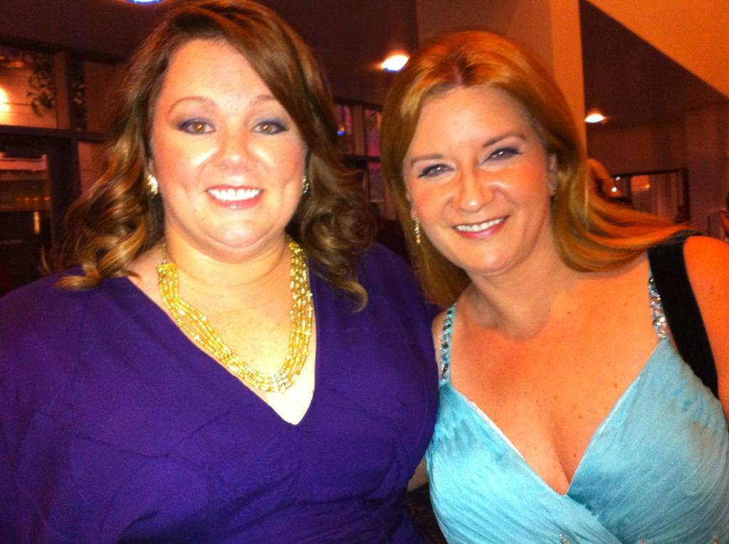 with Melissa McCarthy
