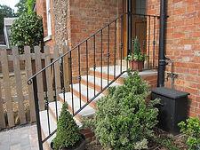 Handmade iron handrails