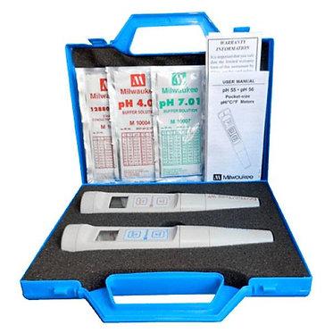 KIT MIlwaukee pH55 + EC60 per misurazione pH ed EC