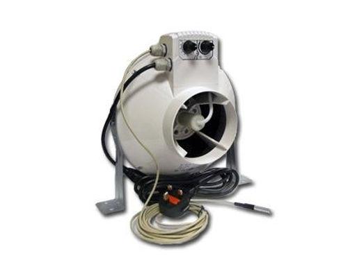 Aspiratore VK100UN con regolatore di temperatura -  Cablato diam 100mm - 250MC/h