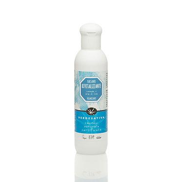 Balsamo rivitalizzante canapa e olio di lino - 200 ml - VERDESATIVA -