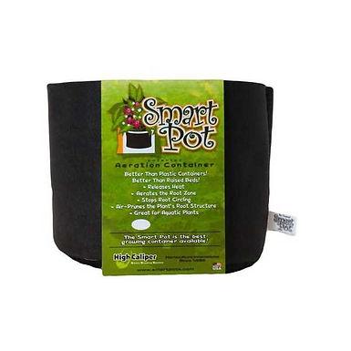 Vaso Smart Pot 11,6L in tessuto nero