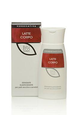 Latte corpo idratante elasticizzante - 150 ml - VERDESATIVA