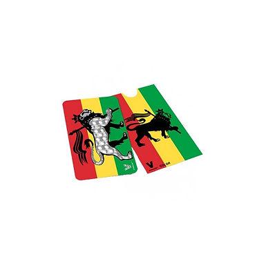 Grinder card - Rasta Lion