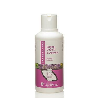 Bagno doccia rilassante canapa e lavanda - 500 ml - VERDESATIVA