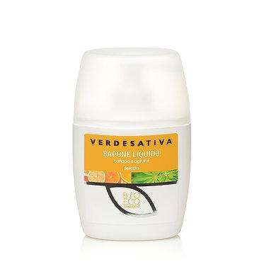 Sapone liquido canapa & agrumi - 250 ml - VERDESATIVA