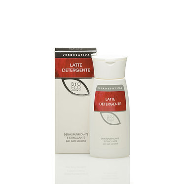 Latte detergente dermopurificante e struccante - 150 ml -VERDESATIVA