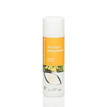 Shampoo riequilibrante capelli GRASSI canapa e tea tree - 200 ml - VERDESATIVA