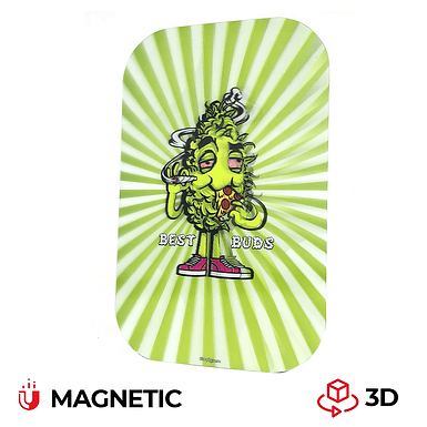 Cover magnetica 3D per vassoio MEDIUM - Pizza