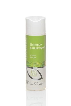 Shampoo ristrutturante luce e volume - 200 ml - VERDESATIVA