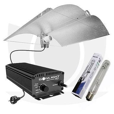 KIT Illuminazione Enforcer Elettronico 400W - PHILIPS MASTER SON-T PIA PLUS AGRO