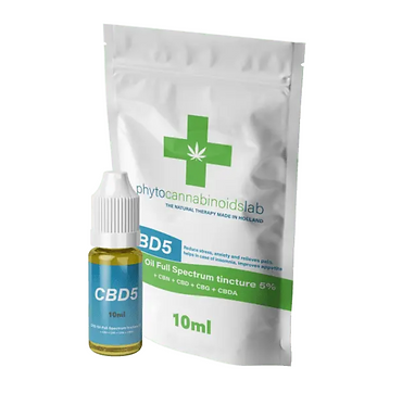 Olio al CBD 5% - 10 ml