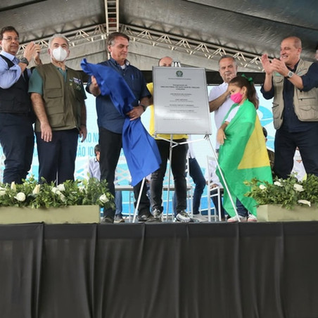 Em São José de Piranhas na Paraíba, Governo Federal inaugura último trecho de canal do Projeto de In