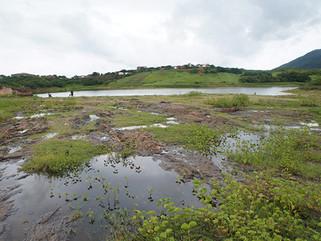 S. J. de Piranhas: em dois dias açude da Cagepa recebe 73cm de água