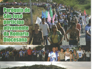 Confira na integra a revista da Paróquia de São José