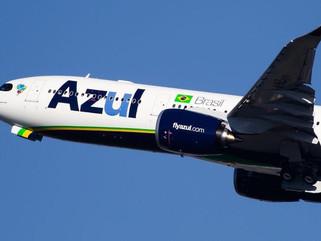 Azul inicia venda de passagens de voos para Patos com preços a partir de R$ 215,80