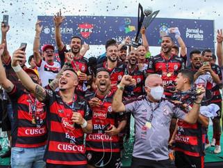Campinense empata com o Sousa e é campeão do Paraibano de 2021