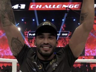 Luta: Cajazeirense Bruno Blindado estreia no UFC no sábado (19)
