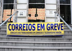 Servidores dos Correios deve entrar em greve na próxima semana