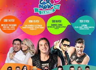 Carnaval de Cajazeiras 2015 – Programação