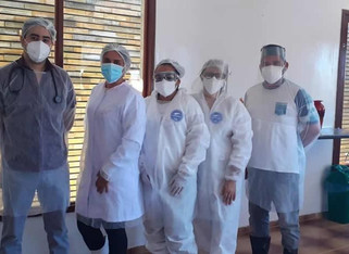 Centro de Atendimento à Covid-19 começa a funcionar em São José de Piranhas