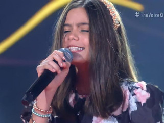 Paraibana Laís Menezes leva forró ao The Voice Kids 2021 e conquista técnicos
