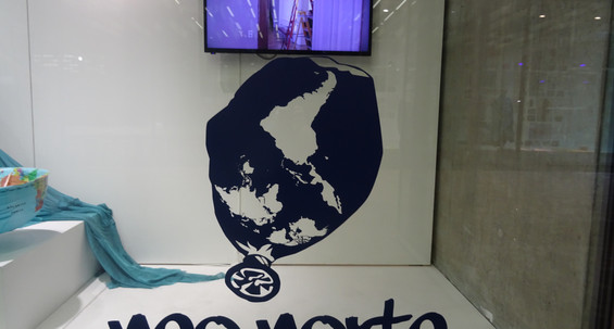 'Neo Norte' Exhibition at Saint Martins Window. University of the Arts London, UK.