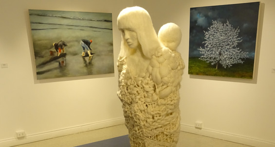 'Surmundo' exhibition at Casa Diego Rivera, Puerto Montt, Chile.