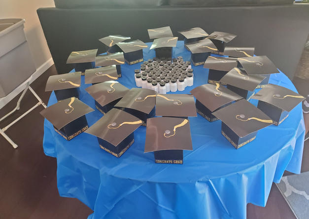 Graduation set-up by Passion Driven Parties
