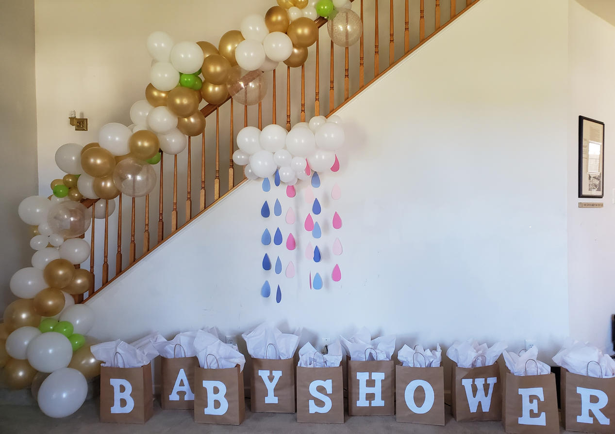 Baby Shower Set-up by Passion Driven Parties