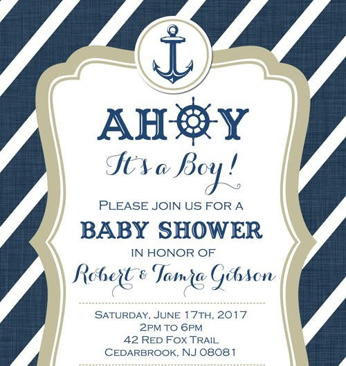 Baby Shower Invitation by Passion Driven Parties