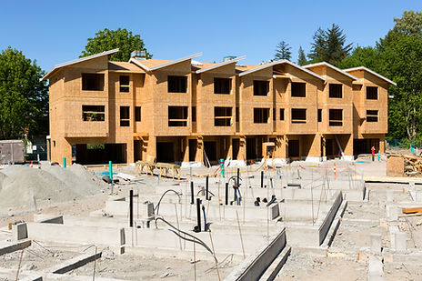 La construcción de viviendas