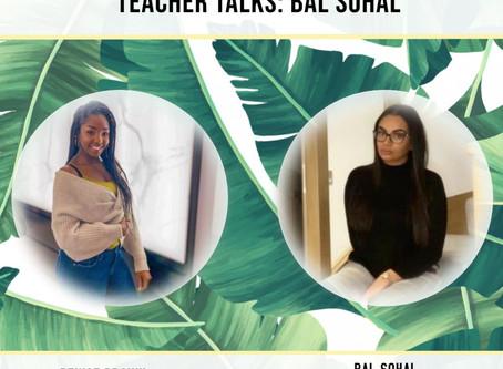 Teacher Talks: Bal Sohal