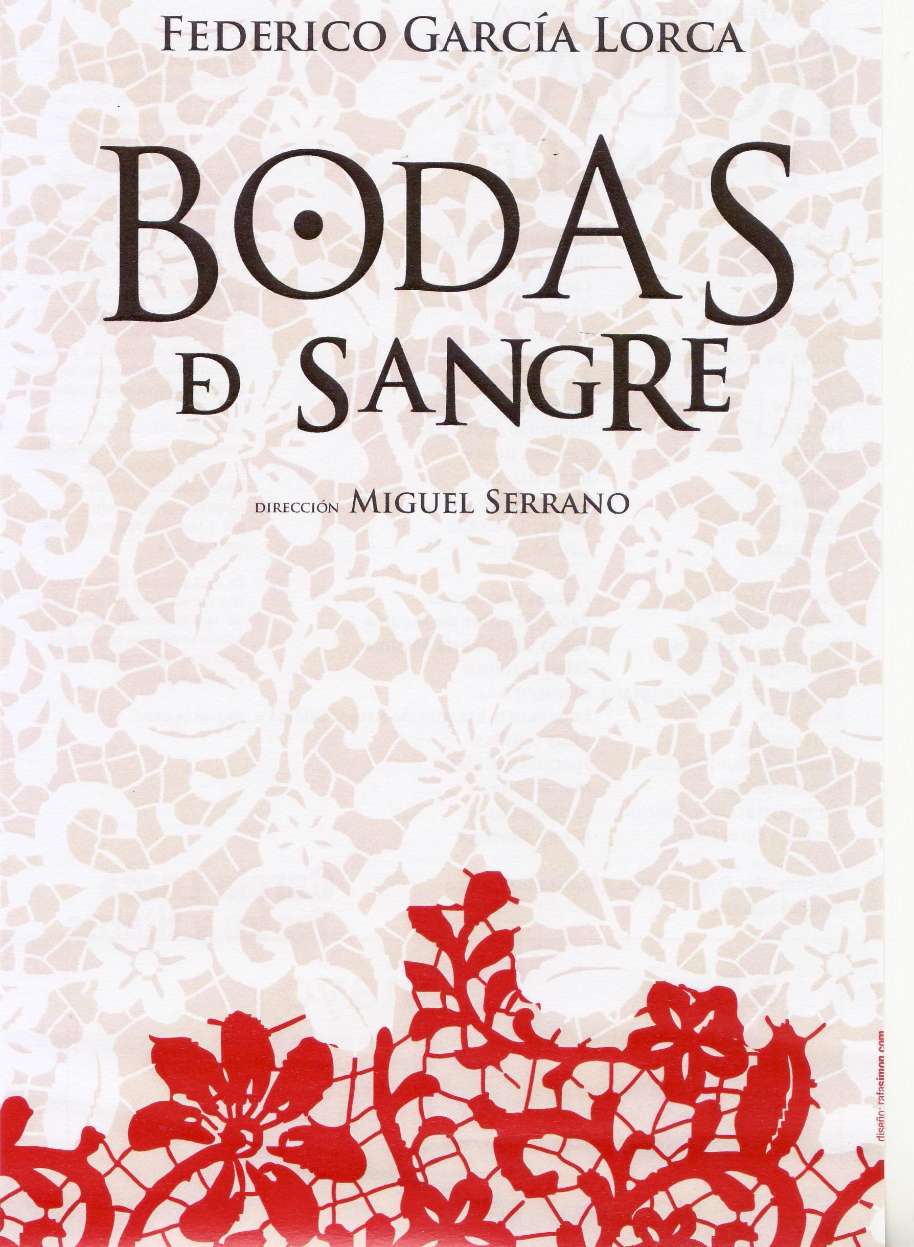 PROGRAMA DE BODAS DE SANGRE