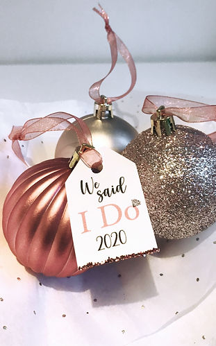 Our bauble decoration set