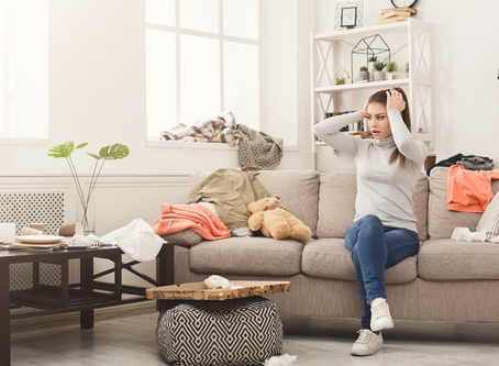ORGANIZING AND DECLUTTERING: FINDING BALANCE FOR OPTIMAL HEALTH