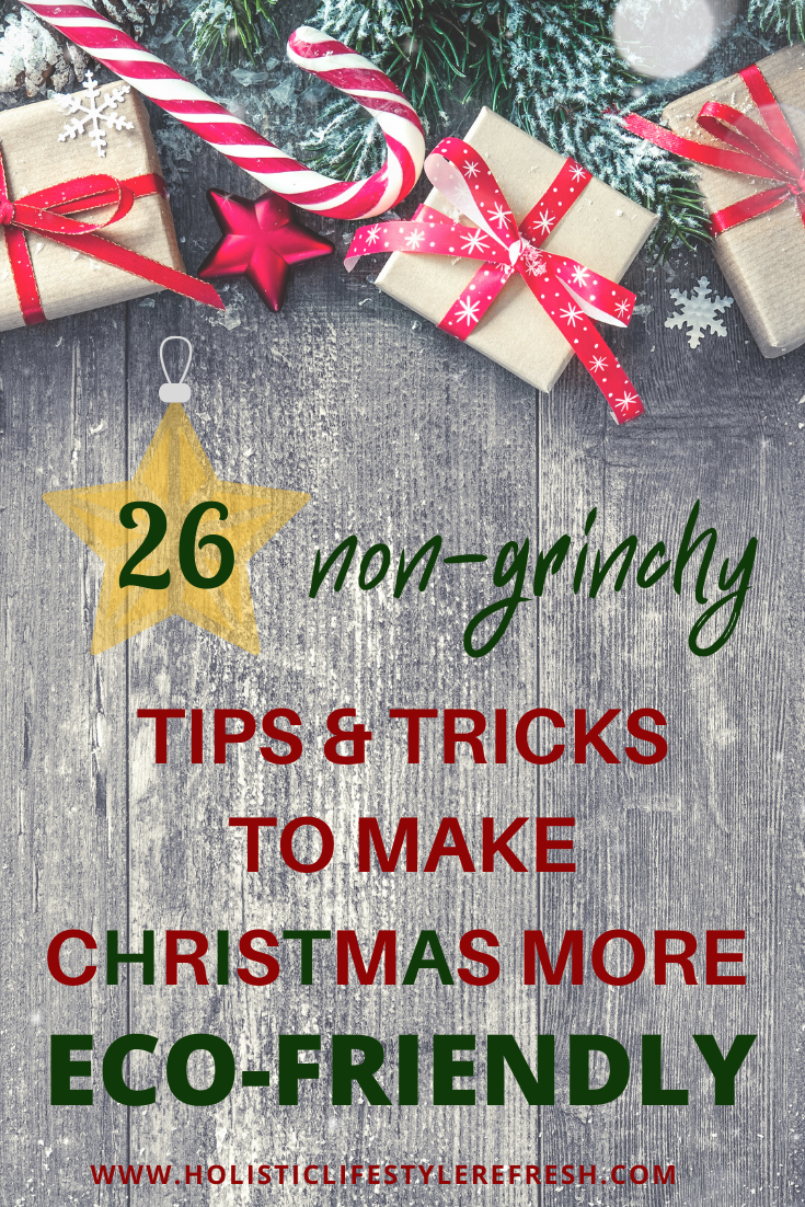 tips and tricks to make Christmas more eco-friendly