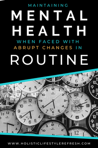 Importance of routine | developing a routine tips | routines mental health | daily routine mental health | mental health tips pandemic | how to change your routine | how to develop a routine | how to develop a daily routine | lifestyle change daily routines | maintaining a routine while social distancing