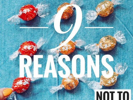 9 Reasons not to Eat Healthy