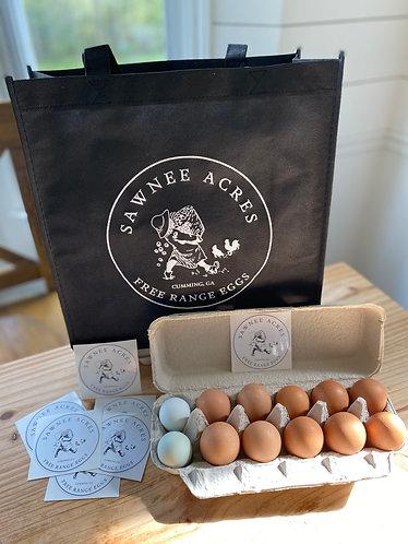 SA Free Range Eggs Market Tote!