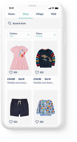 Buy and sell children's clothes online o