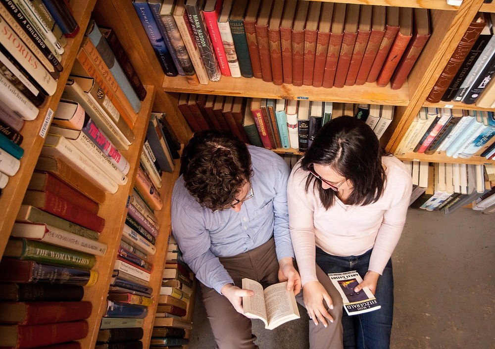 one thing we love to do and support each other in: reading and learning