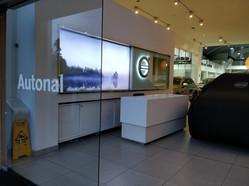 Logo Volvo recepción Autonal