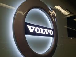 Logo Volvo Recepción
