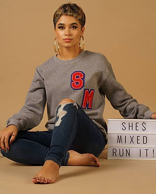 Shop ➡SM Varsity Sweatshirt with Chenill