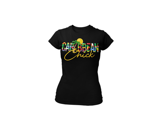 Caribbean Chick Tee